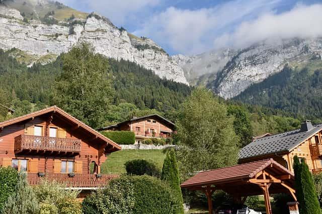 Maison traditionnelle en Haute-Savoie